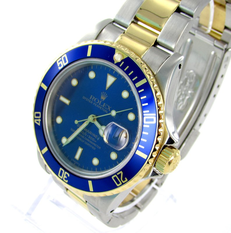 rolex submariner herren uhr stahl gold. Black Bedroom Furniture Sets. Home Design Ideas