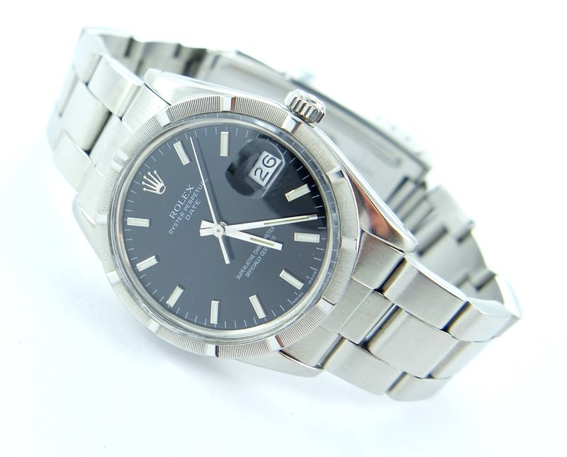 rolex date herren damen uhr oysterband 34mm ebay. Black Bedroom Furniture Sets. Home Design Ideas