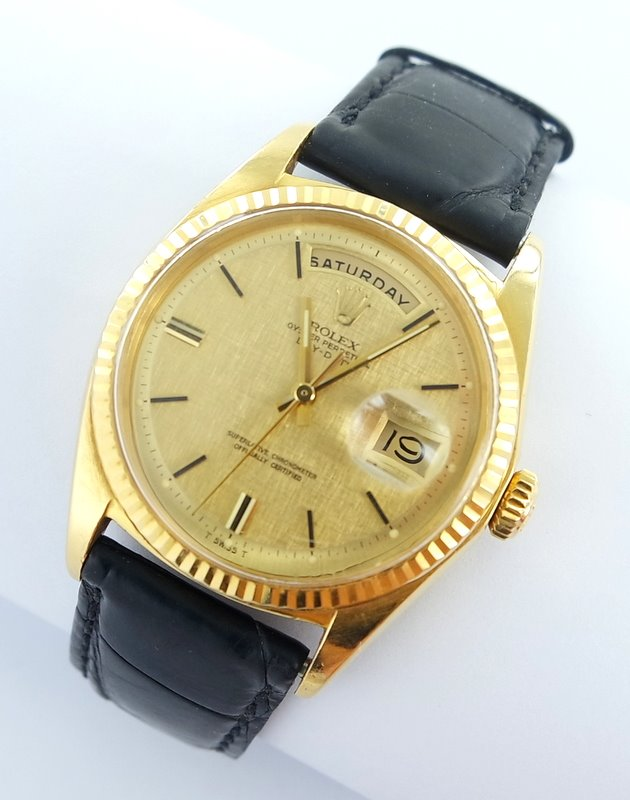 rolex day date herren uhr 18kt gold ref 1803 ebay. Black Bedroom Furniture Sets. Home Design Ideas