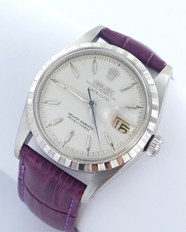 1957 rolex datejust herren uhr ref 6605 extreme selten ebay. Black Bedroom Furniture Sets. Home Design Ideas
